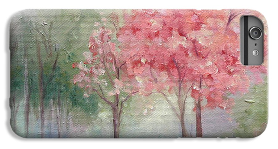 Spring IPhone 6 Plus Case featuring the painting Sign Of Spring by Ginger Concepcion
