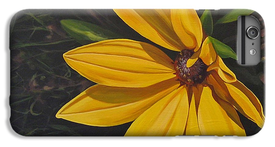 Wildflower IPhone 6 Plus Case featuring the painting Sign Of Summer by Hunter Jay