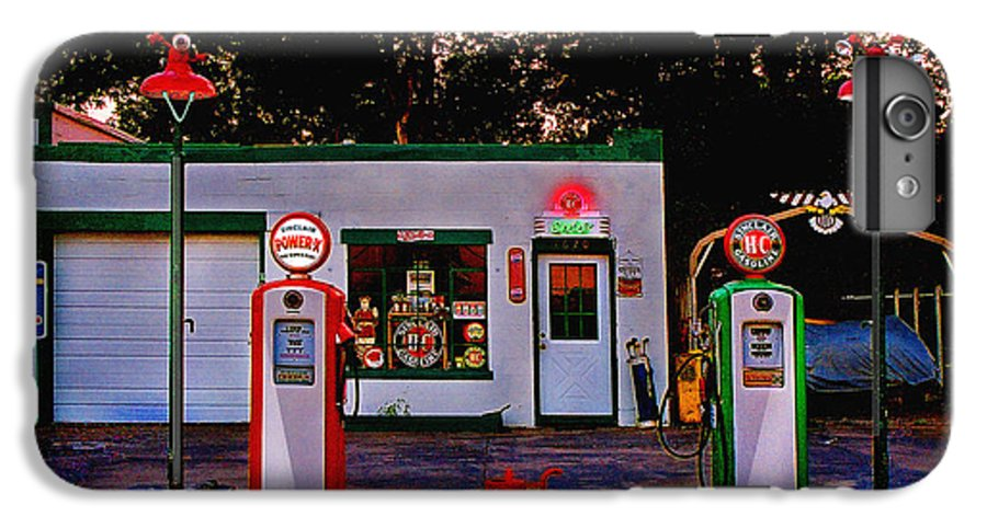 Gas Station IPhone 6 Plus Case featuring the photograph Sinclair by Steve Karol