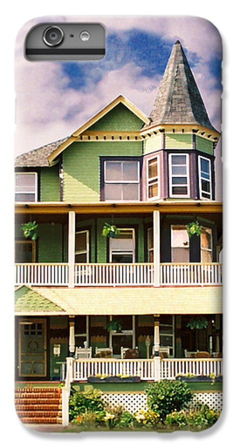 Archtiecture IPhone 6 Plus Case featuring the photograph Sisters Panel 1 Of Triptych by Steve Karol