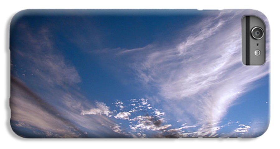 Skies IPhone 6 Plus Case featuring the photograph Sky by Amanda Barcon