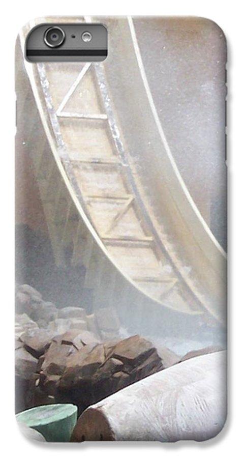 Slide IPhone 6 Plus Case featuring the photograph Slide Splash by Pharris Art