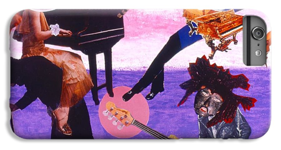 Grand Piano IPhone 6 Plus Case featuring the drawing Soap Scene #21 Beggar Belief by Minaz Jantz
