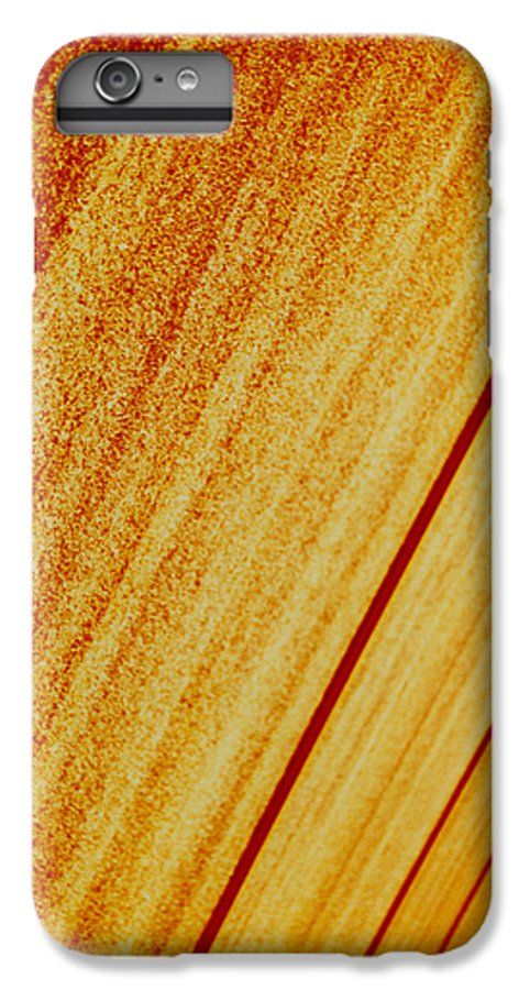 Abstract IPhone 6 Plus Case featuring the photograph Sod by David Rivas