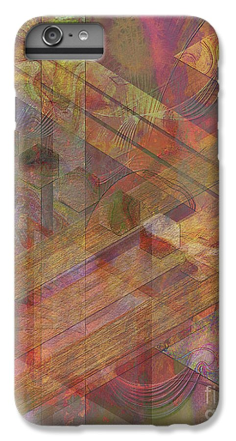 Soft Fantasia IPhone 6 Plus Case featuring the digital art Soft Fantasia by John Beck