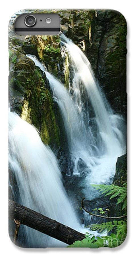 Waterfall IPhone 6 Plus Case featuring the photograph Sol Duc Falls by Idaho Scenic Images Linda Lantzy