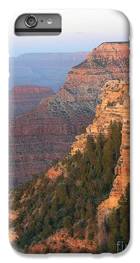 Sunset IPhone 6 Plus Case featuring the photograph South Rim Sunset by Louise Magno
