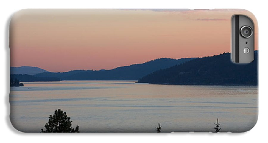 Sunset IPhone 6 Plus Case featuring the photograph Southern Skies In Pink by Idaho Scenic Images Linda Lantzy