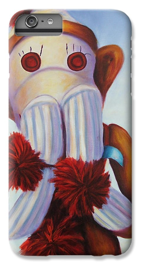 Children IPhone 6 Plus Case featuring the painting Speak No Bad Stuff by Shannon Grissom