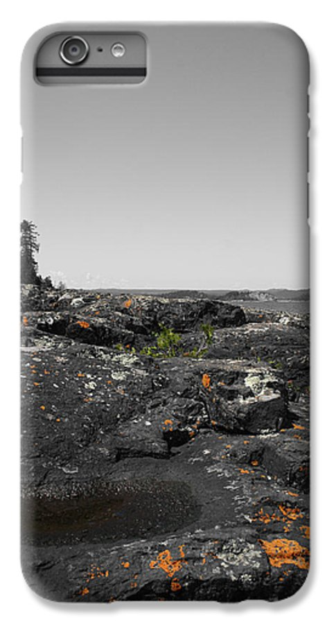 Landscape IPhone 6 Plus Case featuring the photograph Spotted Rocks by Dylan Punke