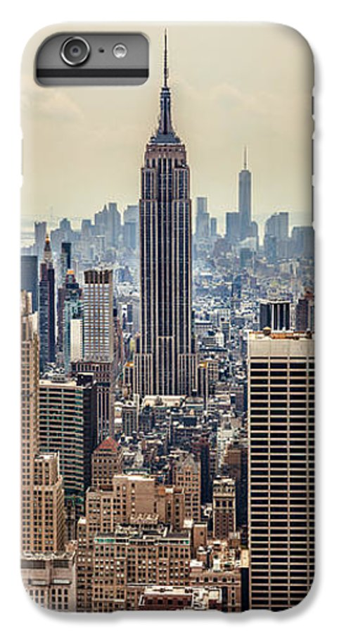 Empire State Building IPhone 6 Plus Case featuring the photograph Sprawling Urban Jungle by Az Jackson