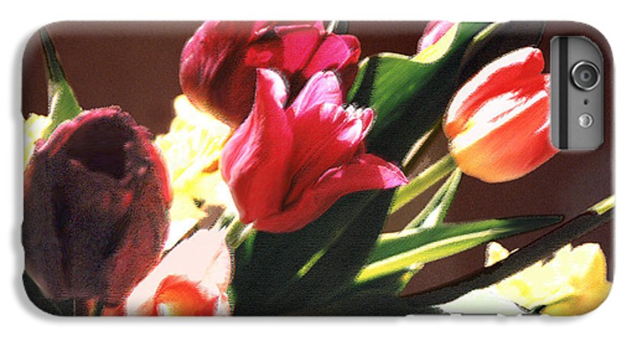Floral Still Life IPhone 6 Plus Case featuring the photograph Spring Bouquet by Steve Karol