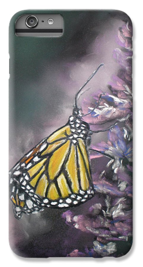 Spring IPhone 6 Plus Case featuring the painting Spring by Cathy Weaver