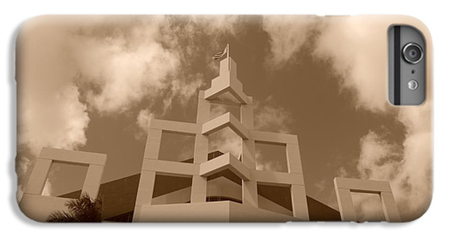 Architecture IPhone 6 Plus Case featuring the photograph Squares In The Sky by Rob Hans