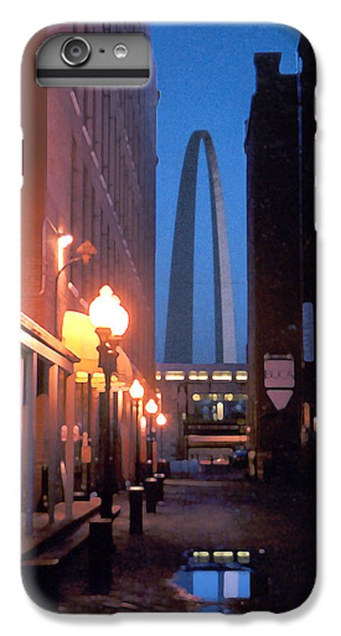 St. Louis IPhone 6 Plus Case featuring the photograph St. Louis Arch by Steve Karol