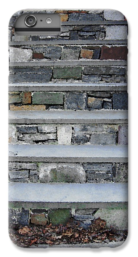 Stairs IPhone 6 Plus Case featuring the photograph Stairs To The Plague House by RC DeWinter