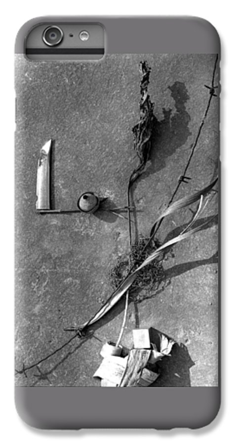 Still Life IPhone 6 Plus Case featuring the photograph Still Forms by Ted M Tubbs