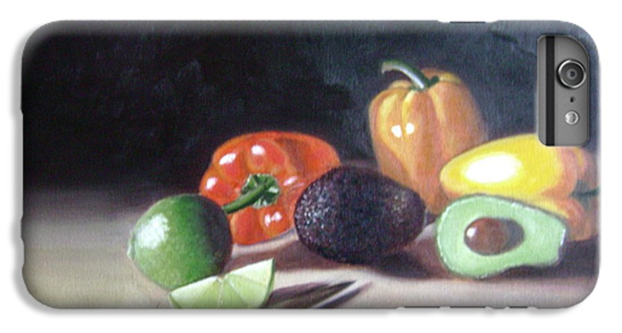 IPhone 6 Plus Case featuring the painting Still-life by Toni Berry