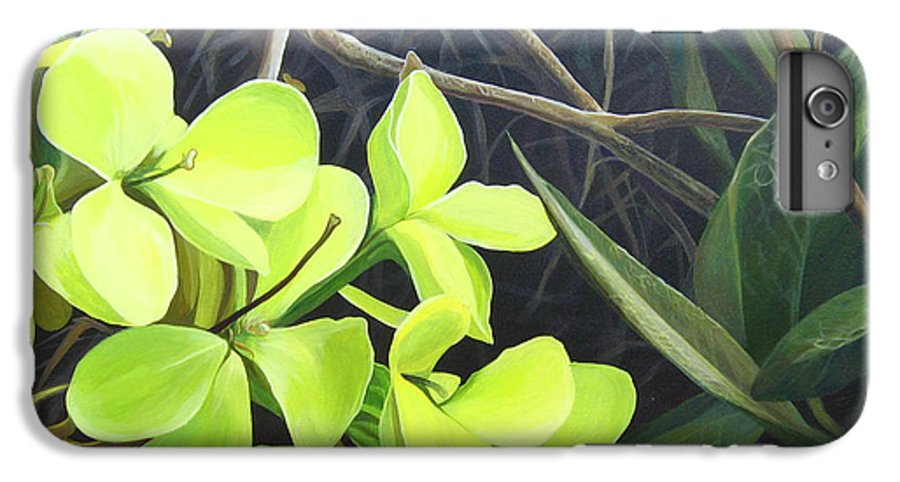 Wildflower IPhone 6 Plus Case featuring the painting Stolen Moments by Hunter Jay