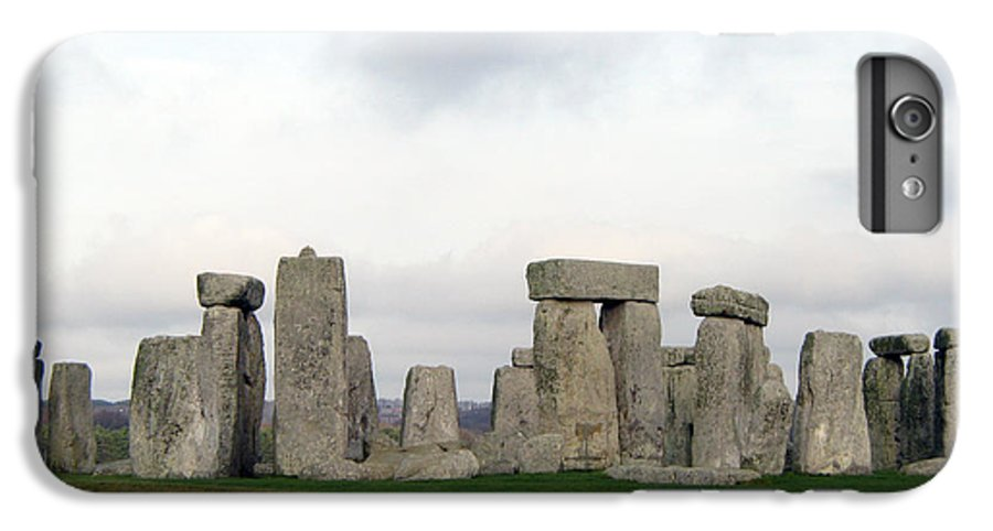 Stonehenge IPhone 6 Plus Case featuring the photograph Stonehenge by Amanda Barcon