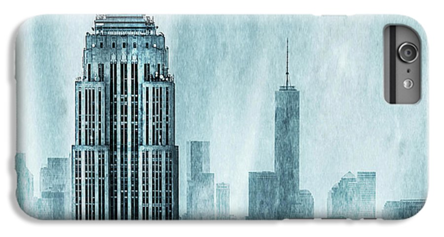 Empire State Building IPhone 6 Plus Case featuring the digital art Storm Troopers by Az Jackson
