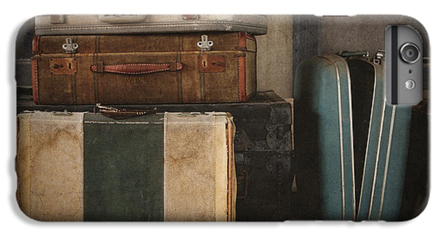 Luggage IPhone 6 Plus Case featuring the photograph Stranded by Amy Weiss