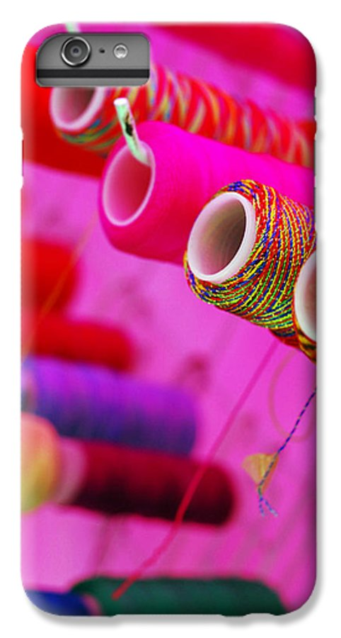 Color IPhone 6 Plus Case featuring the photograph String Theory by Skip Hunt