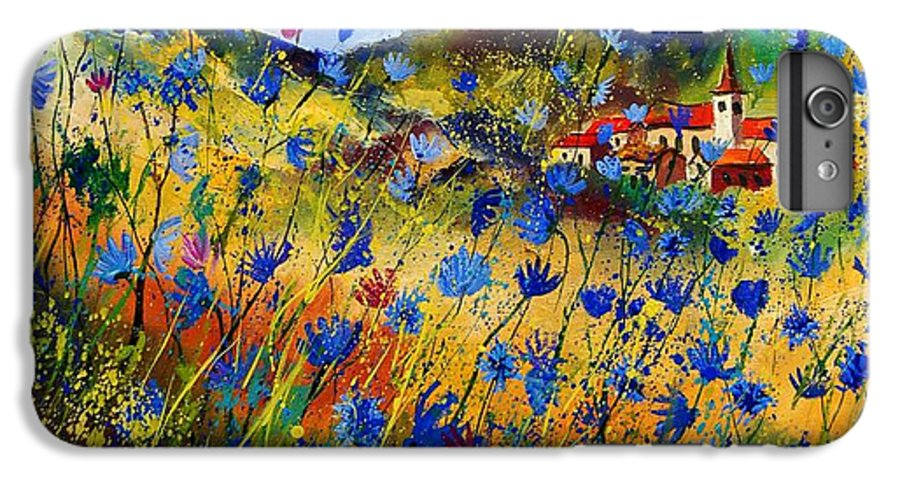 Flowers IPhone 6 Plus Case featuring the painting Summer Glory by Pol Ledent