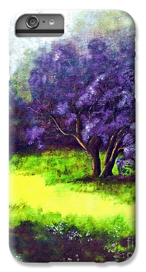 Fine Art Print IPhone 6 Plus Case featuring the painting Summer Mist by Patricia Griffin Brett