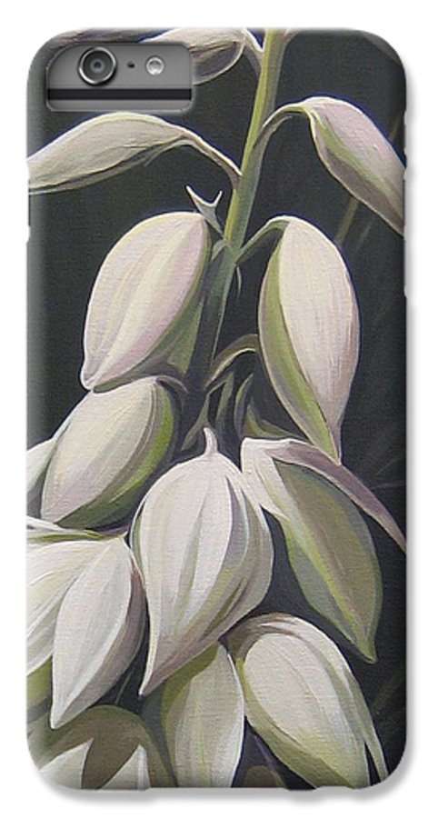 Yucca Plant IPhone 6 Plus Case featuring the painting Summersilver by Hunter Jay