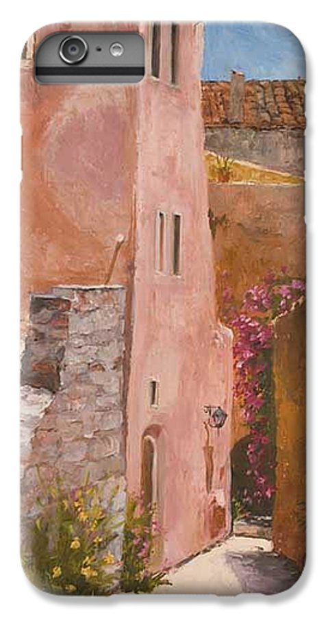 Urban IPhone 6 Plus Case featuring the painting Sun Drenched by Kit Hevron Mahoney