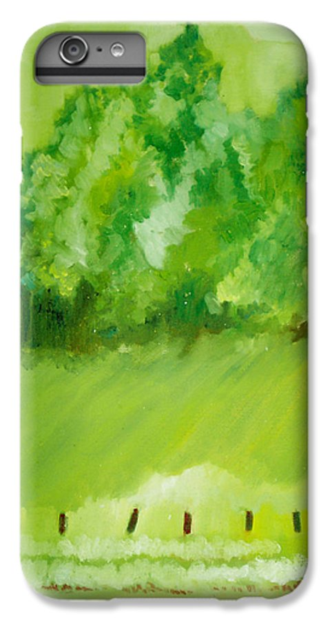 Spring IPhone 6 Plus Case featuring the painting Sunday At Two Thirty by Seth Weaver
