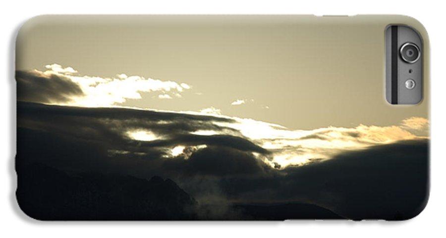 Sunrise IPhone 6 Plus Case featuring the photograph Sunrise Over The Sandias by Rob Hans