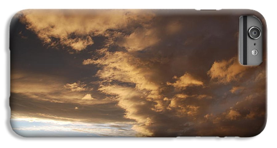 Sunset IPhone 6 Plus Case featuring the photograph Sunset At The New Mexico State Capital by Rob Hans