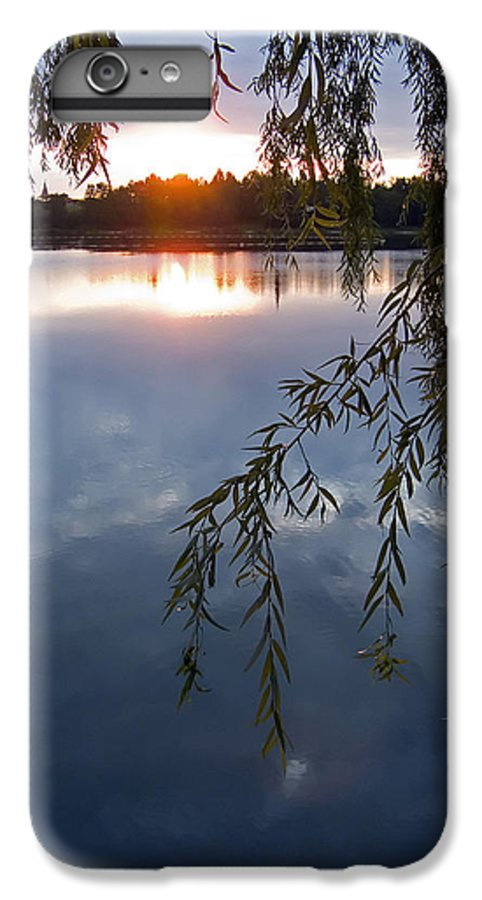Nature IPhone 6 Plus Case featuring the photograph Sunset by Daniel Csoka