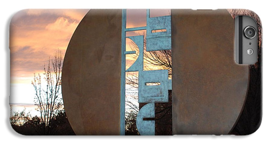 Pop Art IPhone 6 Plus Case featuring the photograph Sunset Thru Art by Rob Hans