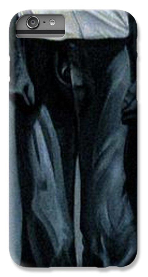 Slavery IPhone 6 Plus Case featuring the painting Survivor Spirit Albert by Joyce Owens