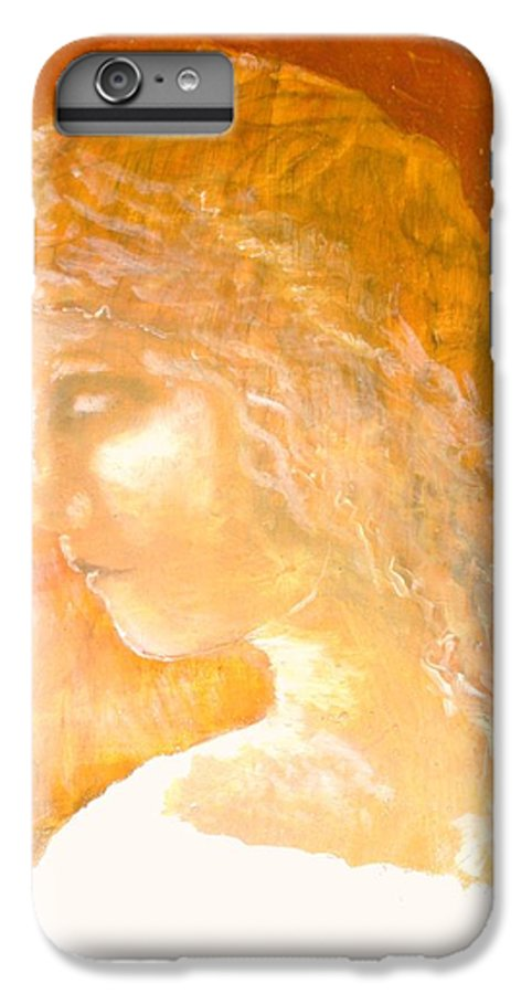 Angel IPhone 6 Plus Case featuring the painting Tender Mercy by J Bauer