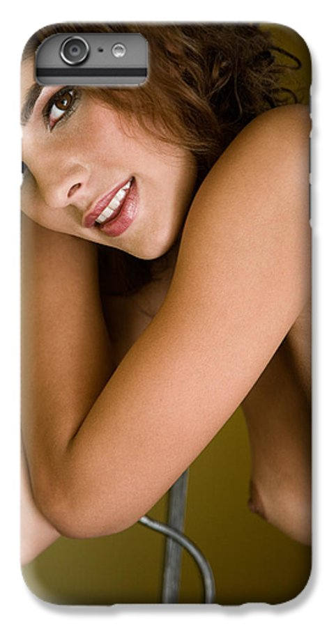Sensual IPhone 6 Plus Case featuring the photograph Tereza by Olivier De Rycke