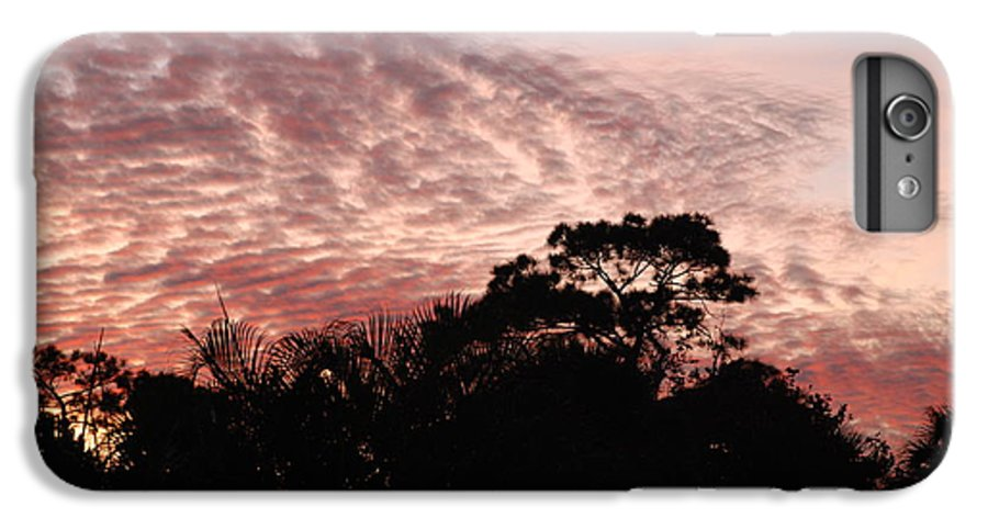 Sky IPhone 6 Plus Case featuring the photograph Thanksgiving Sky by Rob Hans