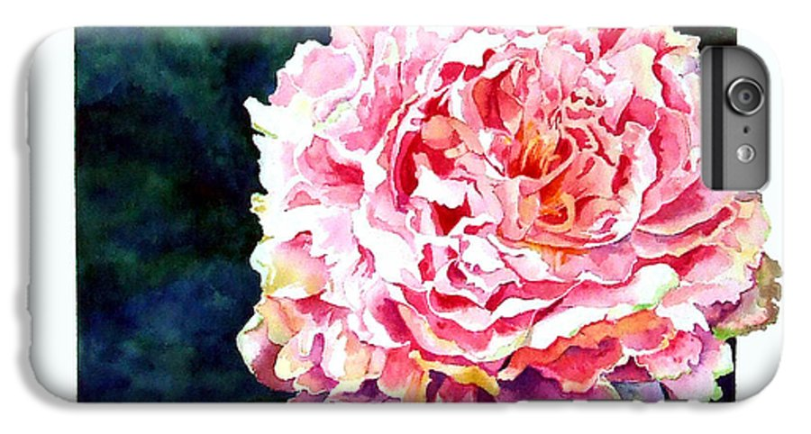 Peony IPhone 6 Plus Case featuring the painting The Ant's Castle by Linda Marie Carroll