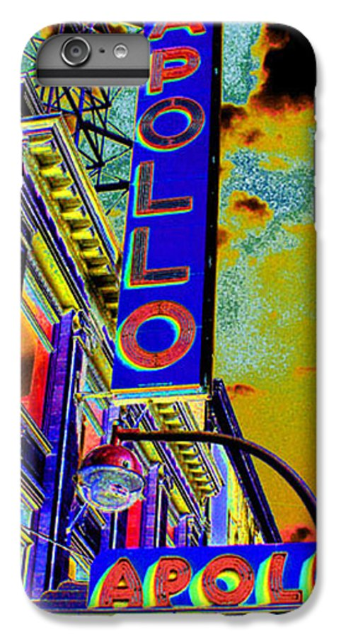 Harlem IPhone 6 Plus Case featuring the photograph The Apollo by Steven Huszar