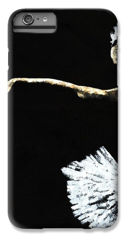 Ballet IPhone 6 Plus Case featuring the painting The Art Of Grace by Richard Young