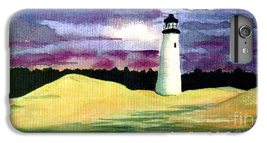Fine Art IPhone 6 Plus Case featuring the painting The Beacon by Patricia Griffin Brett