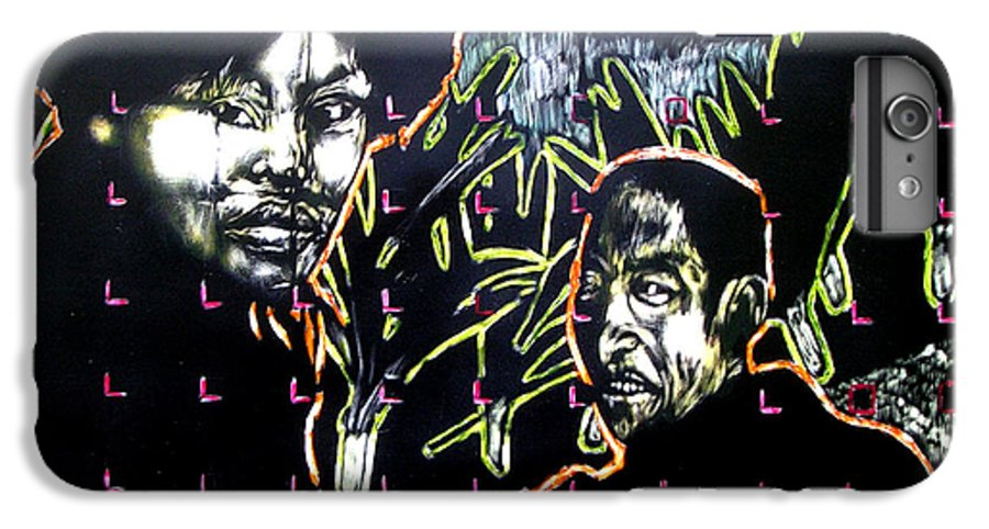 IPhone 6 Plus Case featuring the mixed media The Coffee Vendor by Chester Elmore
