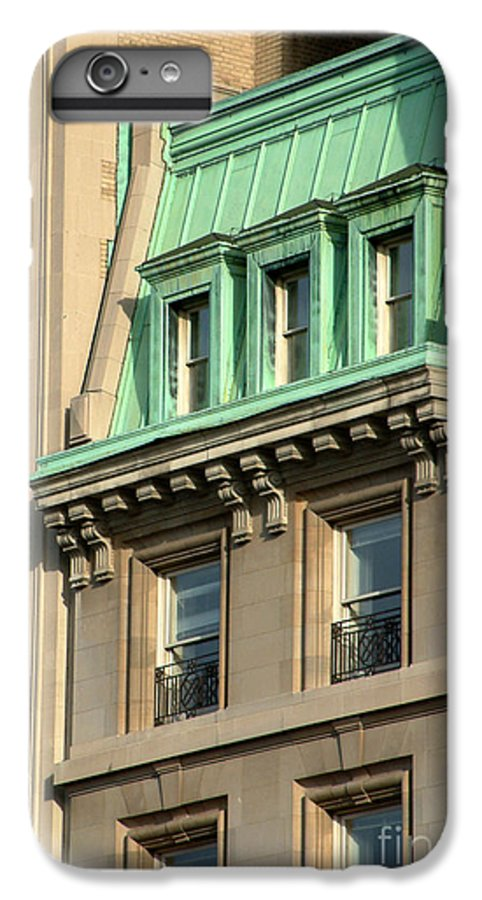 Apartments IPhone 6 Plus Case featuring the photograph The Copper Attic by RC DeWinter