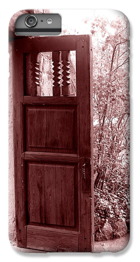Door IPhone 6 Plus Case featuring the photograph The Door by Wayne Potrafka