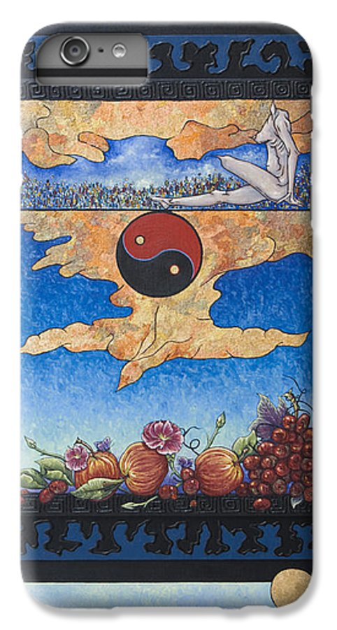 Karma IPhone 6 Plus Case featuring the painting The Dream by Judy Henninger