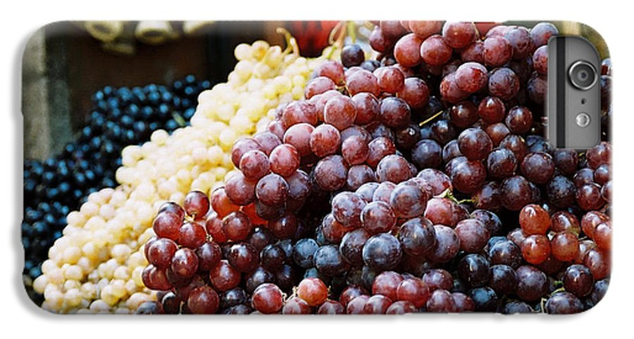 Grapes IPhone 6 Plus Case featuring the photograph The Drink Of Italy by Kathy Schumann