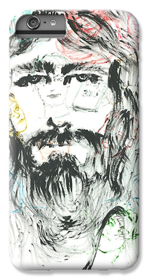 Jesus IPhone 6 Plus Case featuring the painting The Emotions Of Jesus by Nadine Rippelmeyer